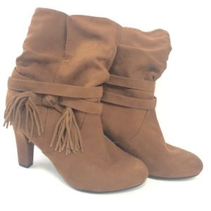NWOT express brown boots size 8